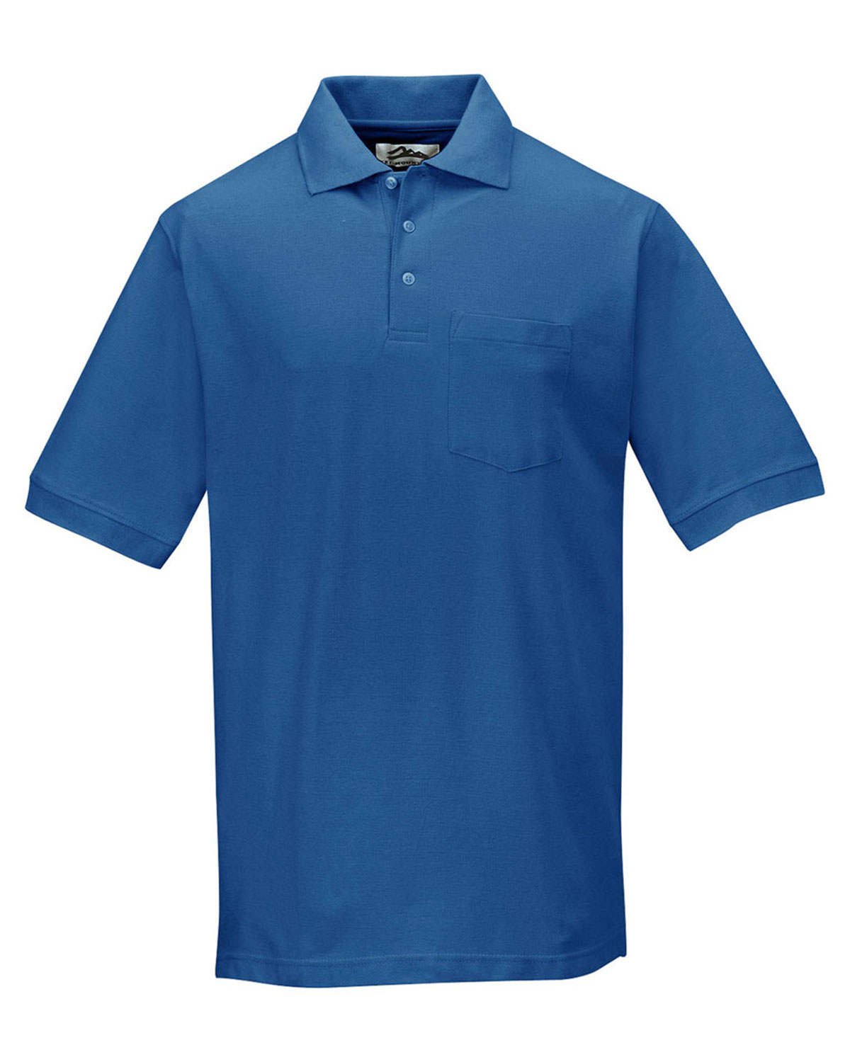 Tri Mountain Baby Pique Pocketed Polo Golf Shirt At Big