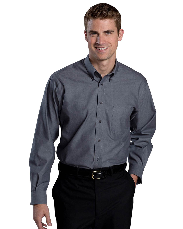 Mens No Iron Button Down Dress Shirt