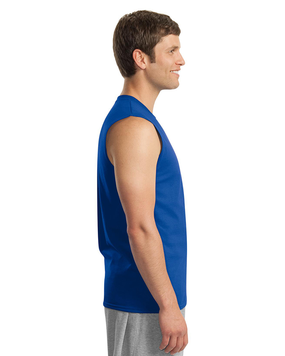 Mens Ultra Cotton Sleeveless T Shirt At Big And Tall