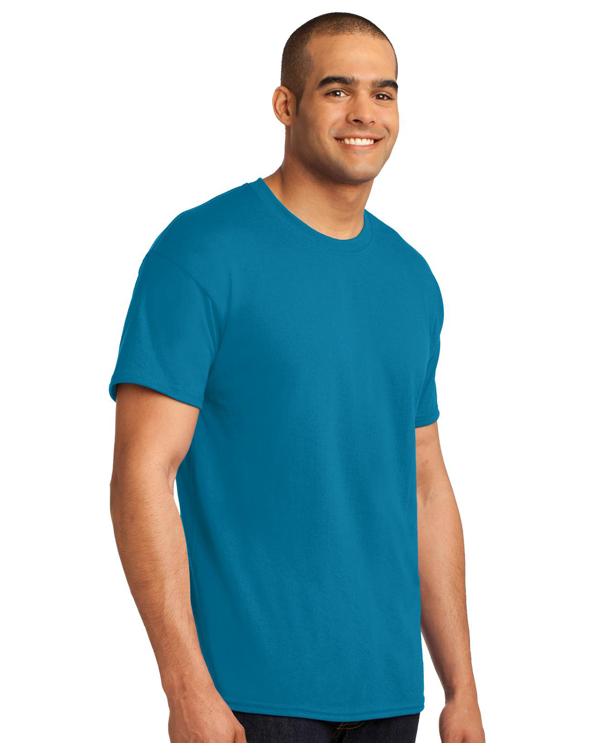 Hanes Heavy Weight 50 50 Cotton Poly T Shirt At Big And