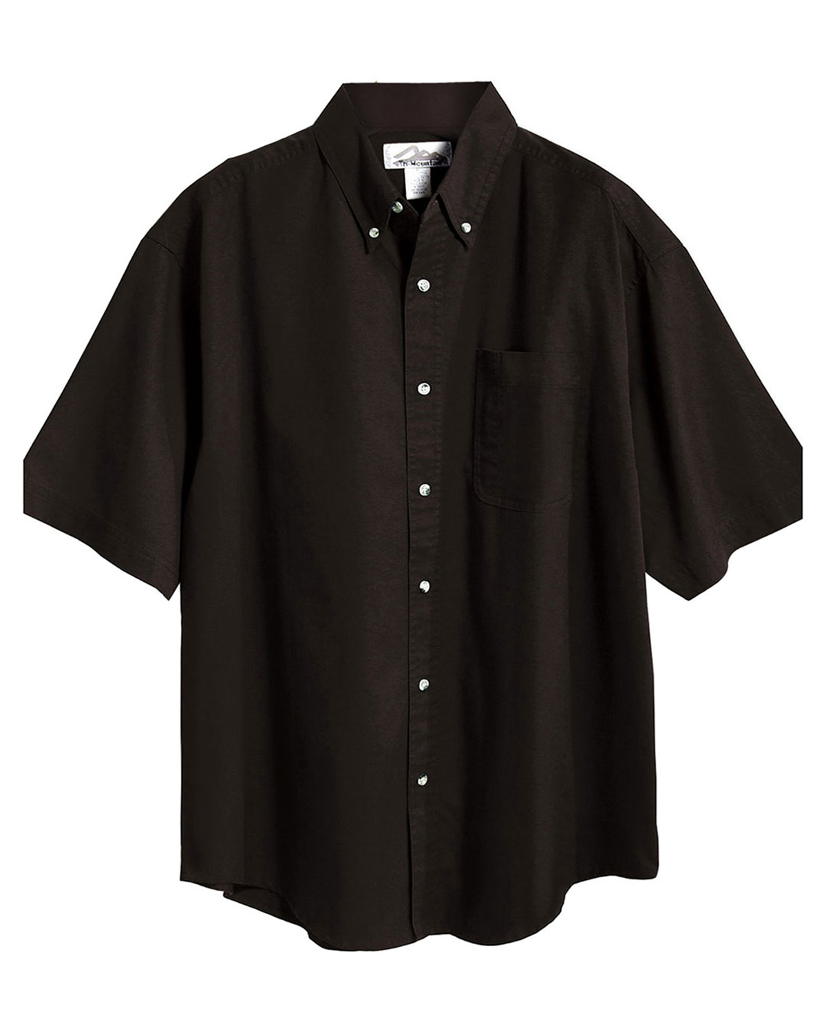 Tri Mountain Easy Care Short Sleeve Twill Dress Shirt At