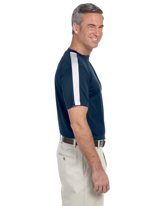 Mens dri fast advantage mesh mock performance polos for Big and tall mock turtleneck shirt