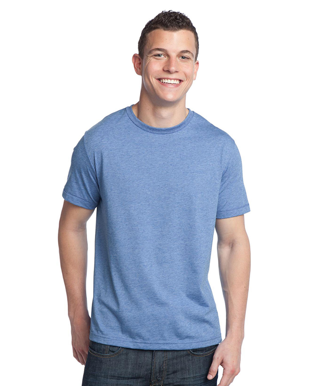 District Threads Tri Blend Crewneck Tee Shirt At Big And