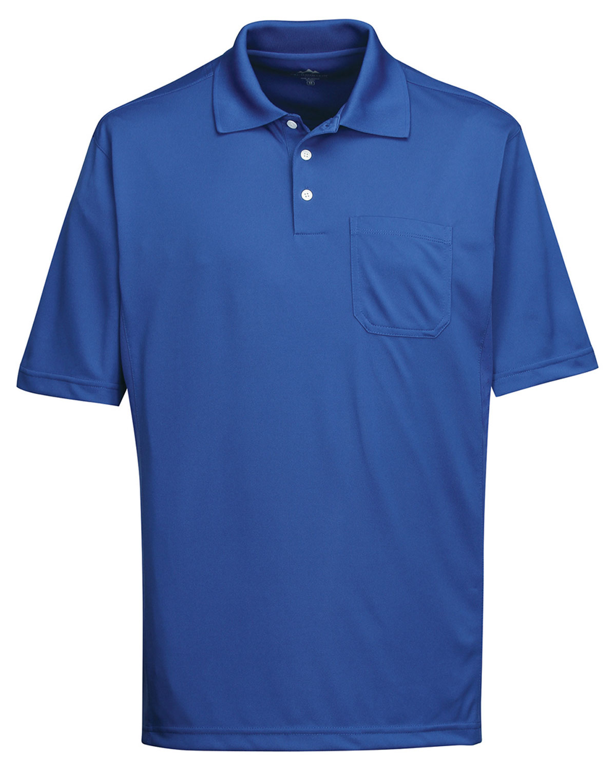 Men 39 s 100 polyester s s pique polo for Big n tall shirts