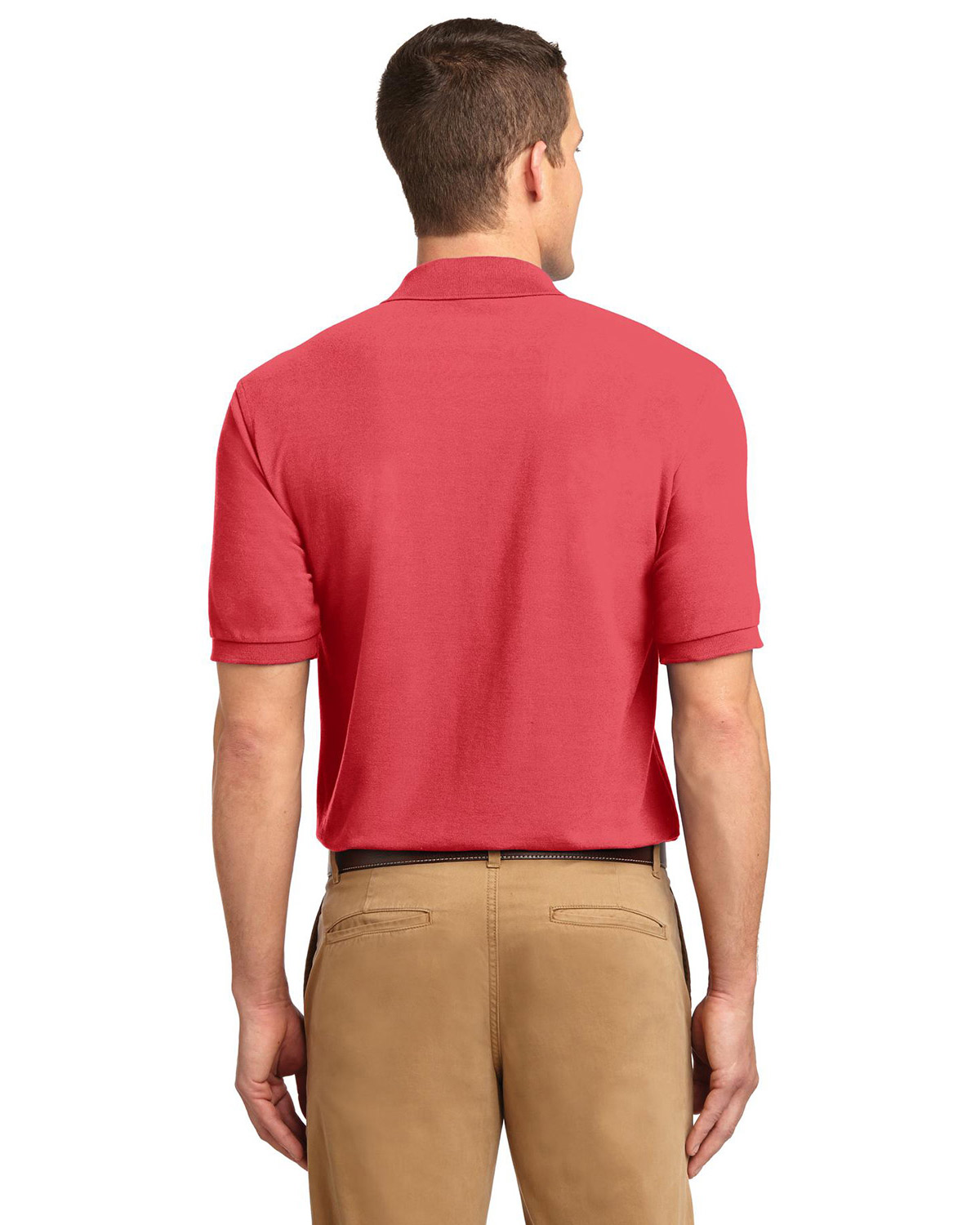 Port Authority Silk Touch Polo Sport Shirt At Big And Tall