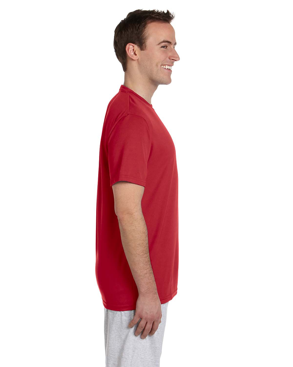 Harriton 42 Oz Athletic Sport T Shirt At Big And Tall