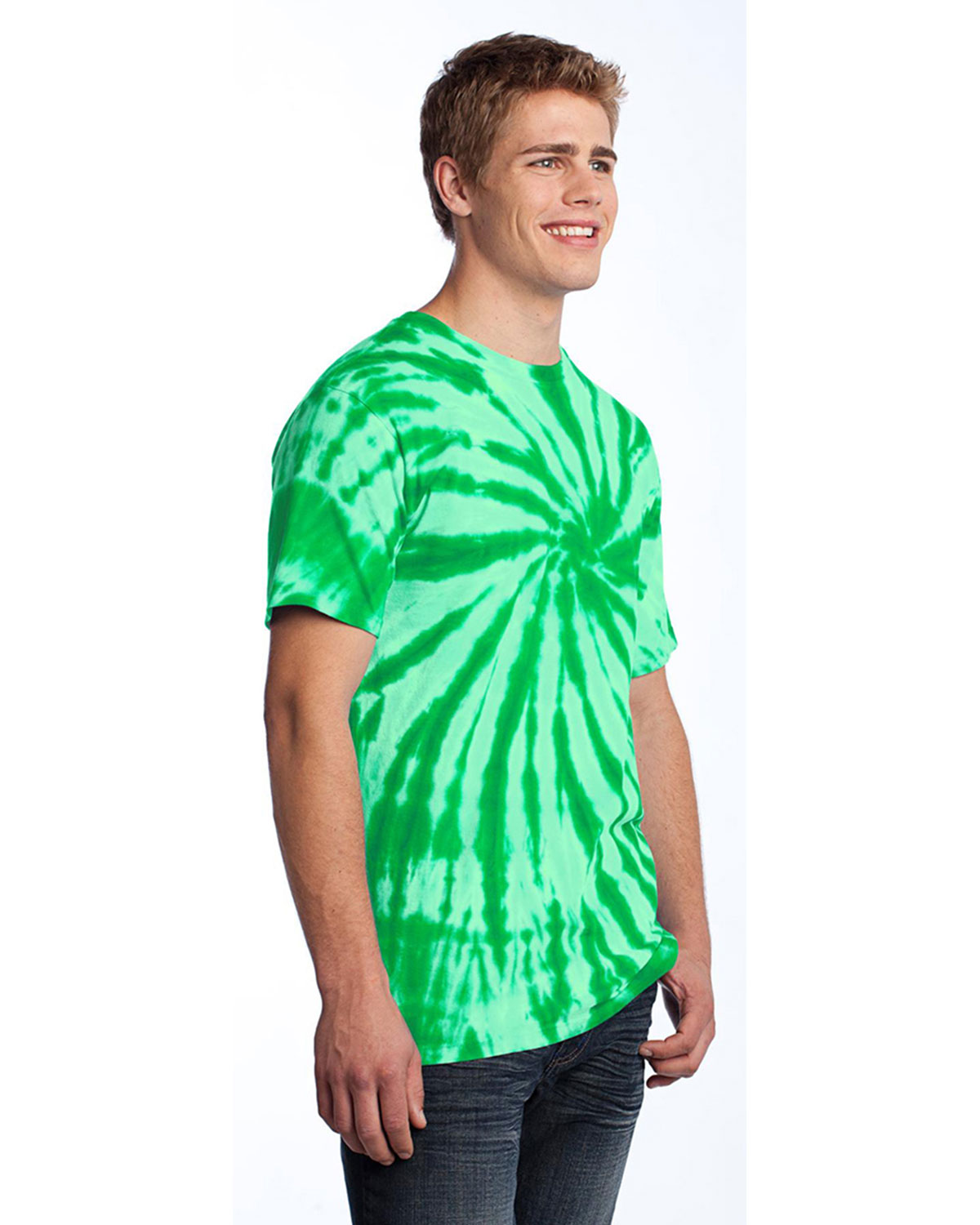 Port Company Tie Dye Tee At Big And Tall Apparel Store