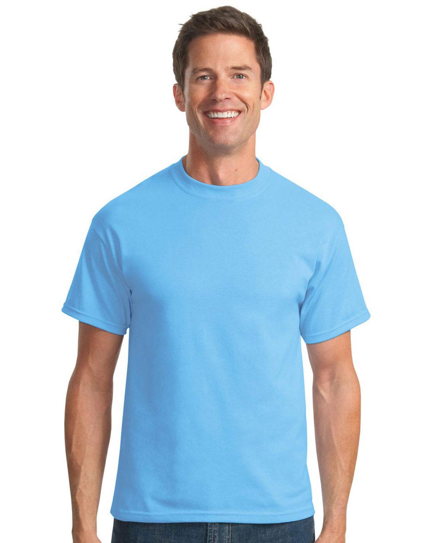 Port company tall 50 50 cotton poly t shirts pc55t for Big n tall shirts