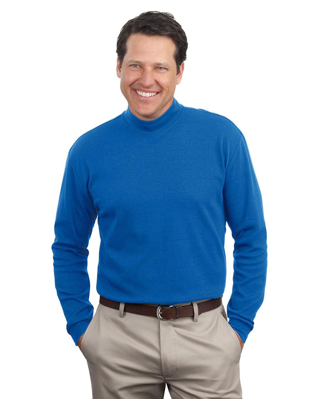 Mens mock turtleneck at big and tall apparel store for Big and tall mock turtleneck shirt
