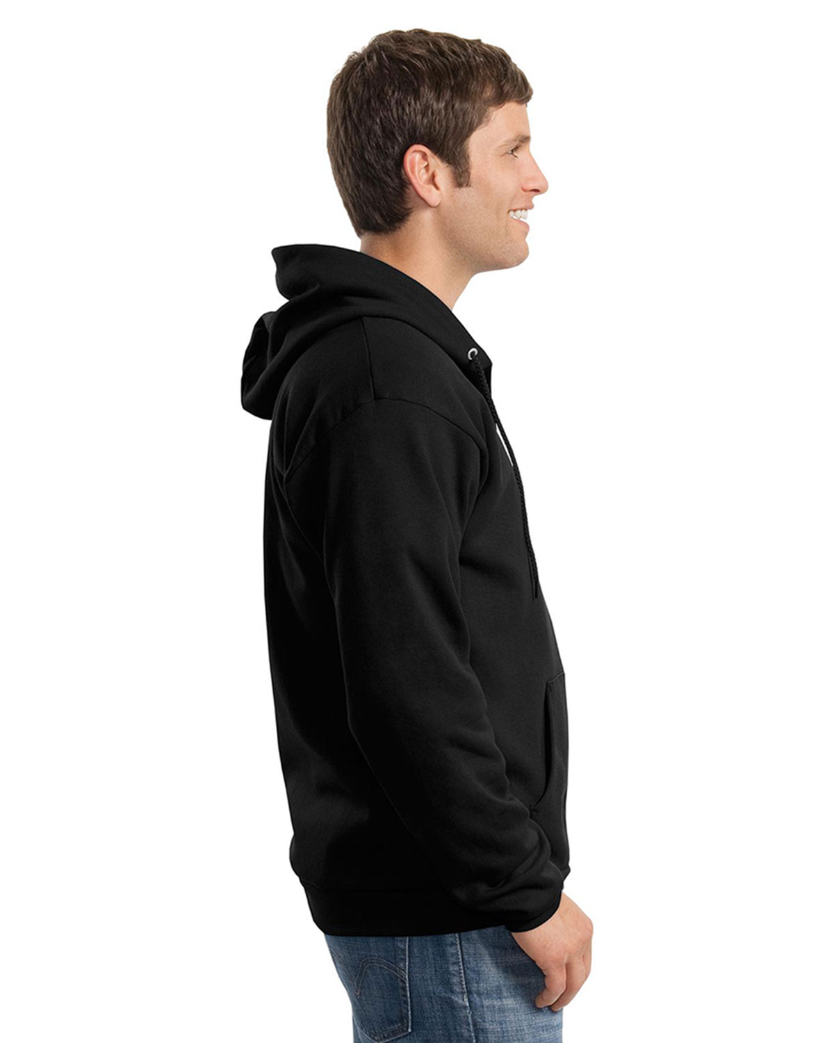 Mens Full Zip Hooded Sweatshirts At Big And Tall Apparel Store
