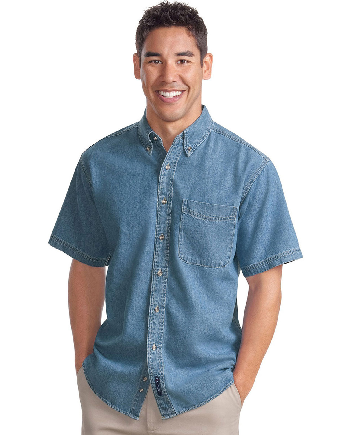 Port Authority Short Sleeve Twill Dress Shirt At Big And