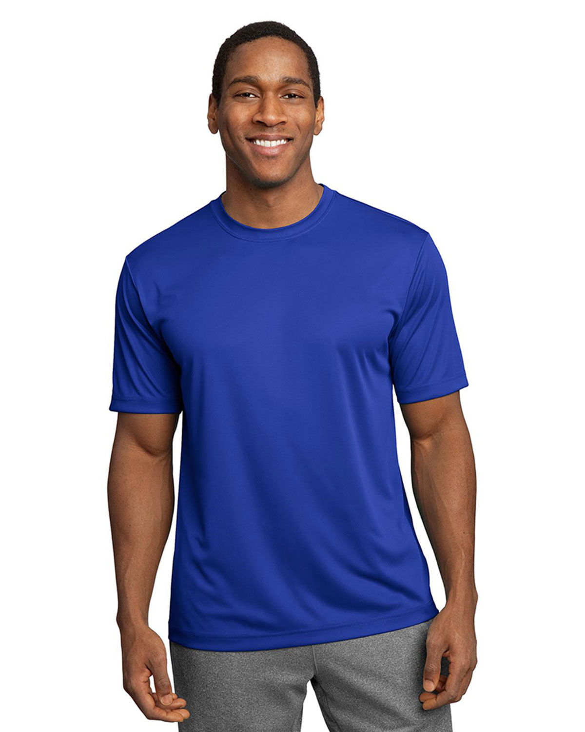Sport tek competitor tee at big and tall apparel store for Big n tall shirts