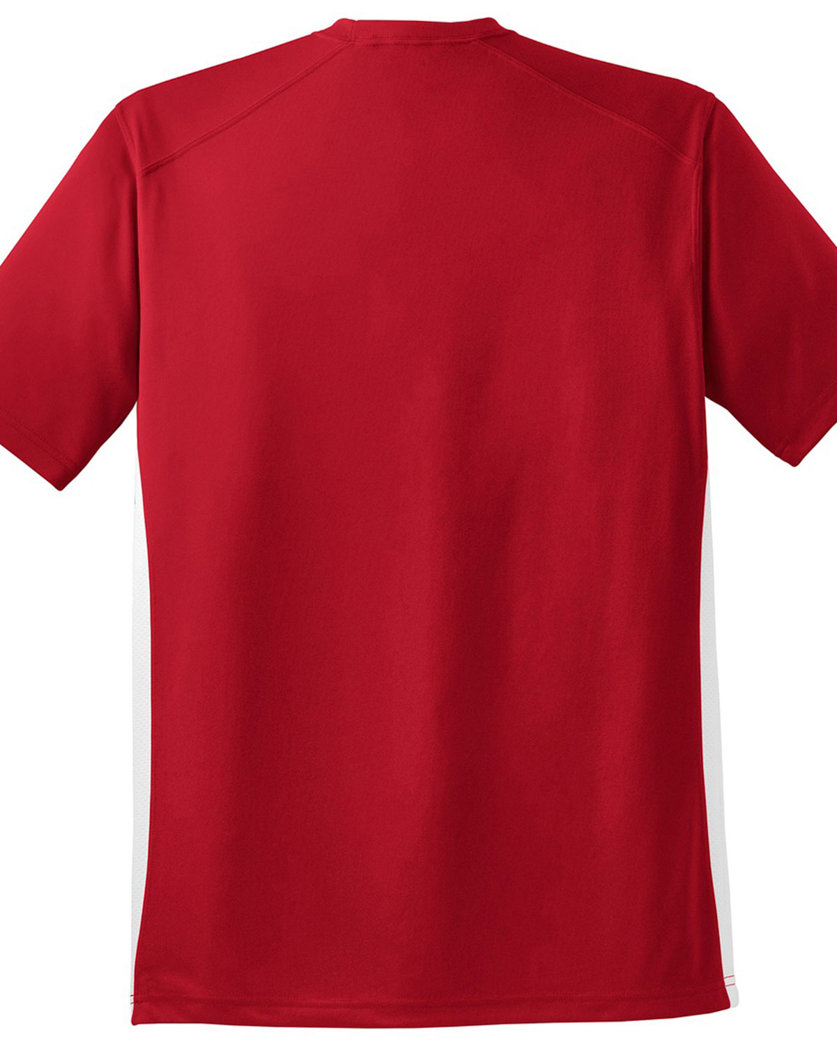 Sport tek dry zone colorblock crew at big and tall apparel for Big n tall shirts