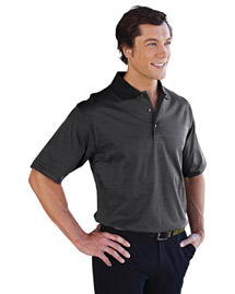 Tri Mountain Double Mercerized Polo Golf Shirt