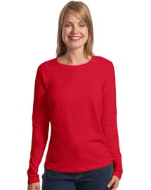 Ladies ComfortSoft ®  Long Sleeve T-Shirt.  5580