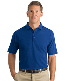 Mens Industrial Pocketless Pique Polo
