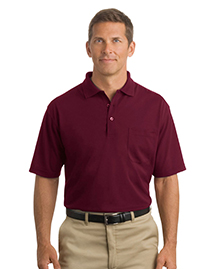 Mens Industrial Pocket Pique Polo
