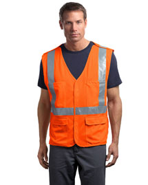 Mens ANSI Class 2 Breakaway Mesh Safety Vest