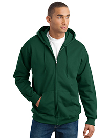 Mens Ultimate Cotton Full Zip Hooded SweatShirt