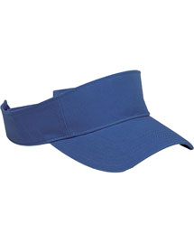 Mens Washed Twill Visor