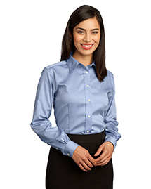 Ladies Non-Iron Pinpoint Oxford.  RH25