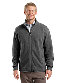 Mens Sweater Fleece Full Zip Jacket