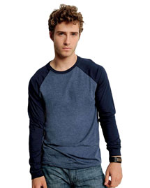 Men's 4.2 Oz. Hawthorne Baseball T-Shirt