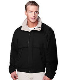 Big And Tall Mens  Cotton/Poly Jacket With Poplin Lining