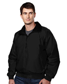 Big And Tall Mens  Nylon Jacket With Lightweight Fleece Lining