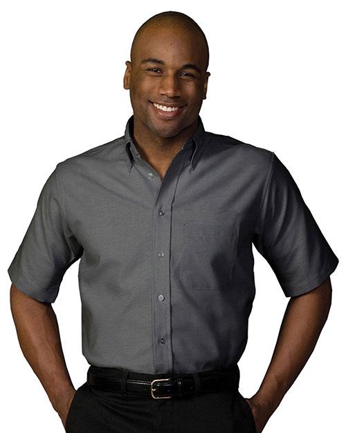 Men 39 s short sleeve oxford shirt for Mens medium tall shirts