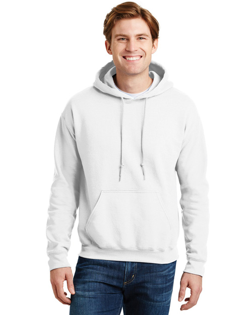 Gildan 12500 Mens Ultra Blend Pullover Hooded SweatShirt White at bigntallapparel