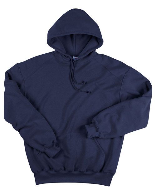 Badger 1254 Women Adult Blended Hooded Sweatshirt Navy at bigntallapparel