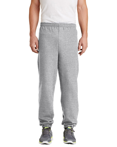 Gildan 18200 Mens Heavy Blend Sweatpant Ash at bigntallapparel