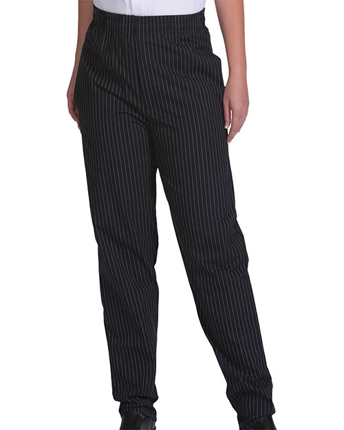 Edwards 2002 ULTIMATE BAGGY CHEF PANT BLACK STRIPE at bigntallapparel