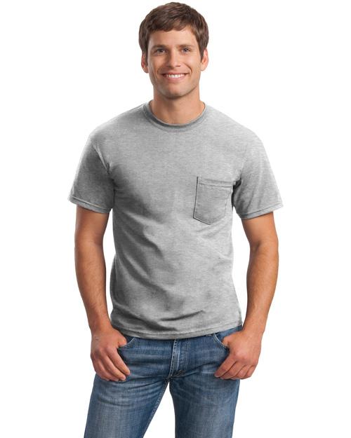 Mens Ultra Cotton 100 Cotton T Shirt With Pocket At Big