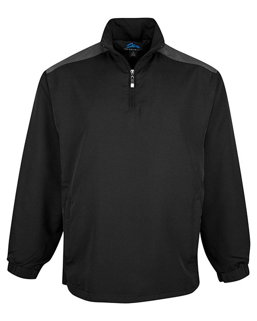 Tri-Mountain 2650 Mens Parkview BLACK/CHARCOAL at bigntallapparel