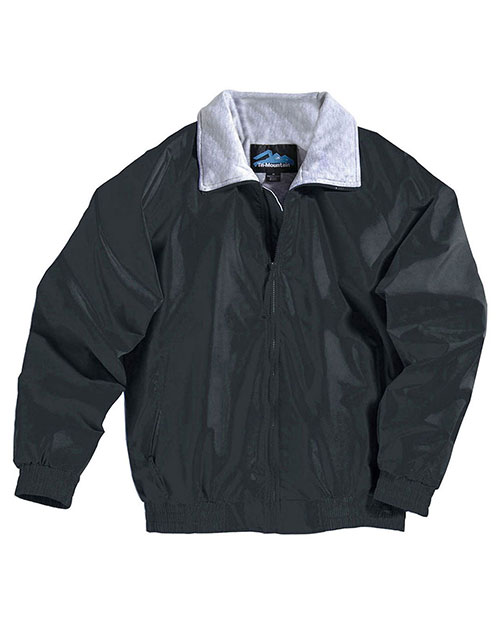 Tri-Mountain 3400 Men Nylon Jacket With Jersey Lining Black at bigntallapparel