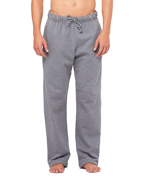Canvas 3717 Men's 7.5 oz. Stewart Fleece Pant DEEP HEATHER at bigntallapparel