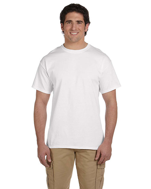 Fruit of the Loom 3931 5.4 oz. Heavy Cotton T-Shirt WHITE at bigntallapparel
