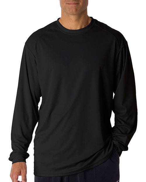 Badger 4104 men bcore longsleeve performance tee for Big n tall shirts