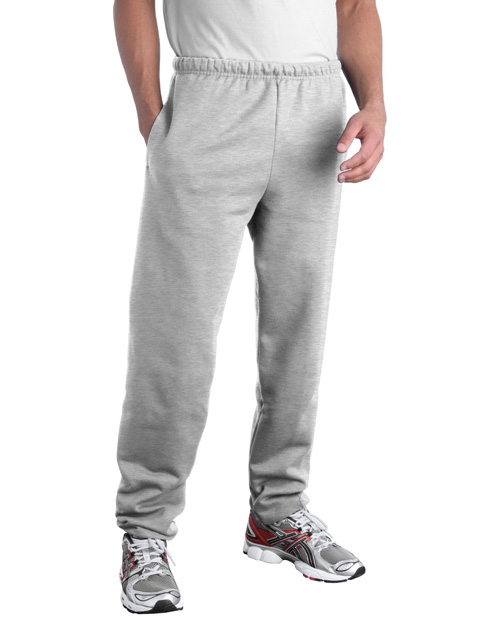 Jerzees 4850MP Men Super Sweats Sweatpant With Pockets Birch at bigntallapparel