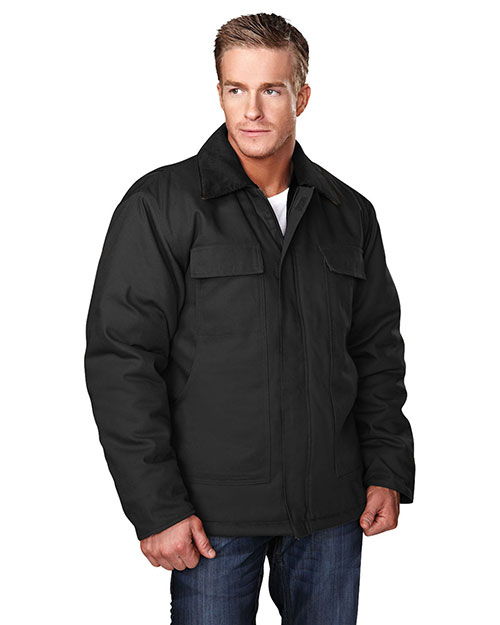 Tri-Mountain 4900 Men Canyon Black/Black/Black at bigntallapparel
