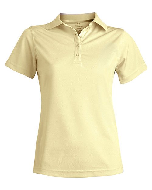 Edwards 5576 WOMEN'S DRY-MESH HI-PERFORMANCE POLO BUTTERCUP at bigntallapparel
