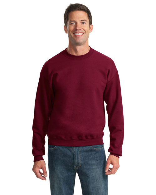 Jerzees 562M Men  8 Ounce Sweatshirt Cardinal at bigntallapparel