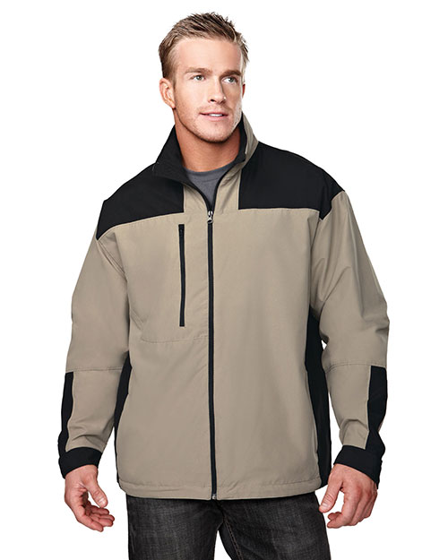 Tri-Mountain 6050 Mens Harbor BRONZE/BLACK at bigntallapparel