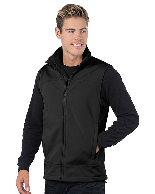 Tri-Mountain 6440 Mens Zeneth BLACK/BLACK at bigntallapparel