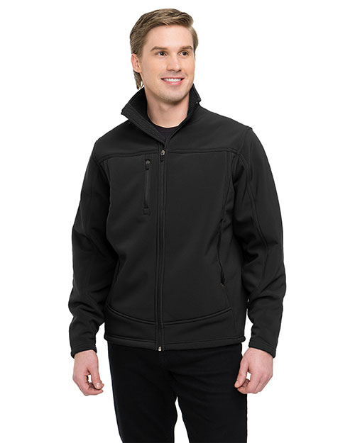 Tri-Mountain 6825 Men Rockford Black/Black at bigntallapparel