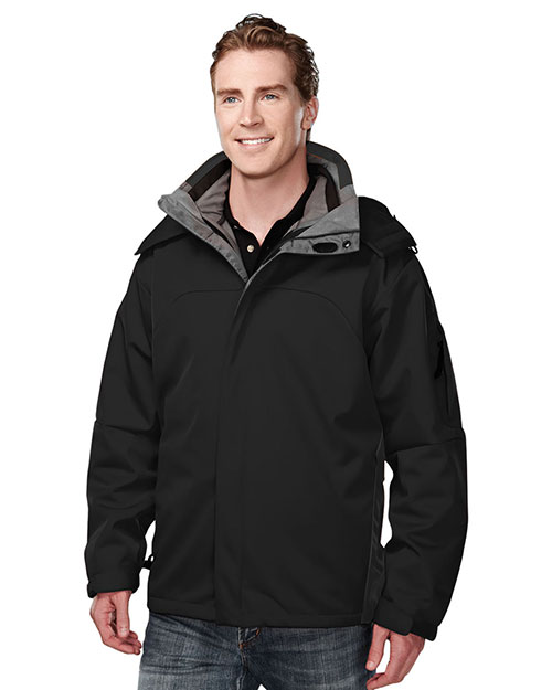 Tri-Mountain 6850 Mens Washington BLACK at bigntallapparel