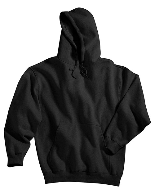 Tri-Mountain 689 Men Sueded Finish Hoodie Black at bigntallapparel