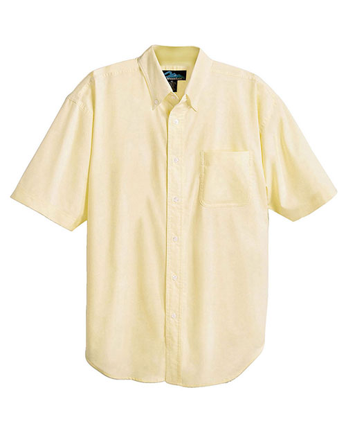 Tri Mountain 748 Men Stain Resistant Short Sleeve Oxford